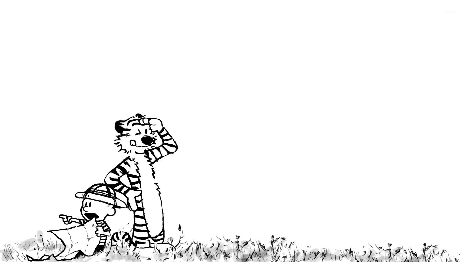 Calvin and Hobbes [5] wallpaper   Cartoon wallpapers   15303 1920x1080