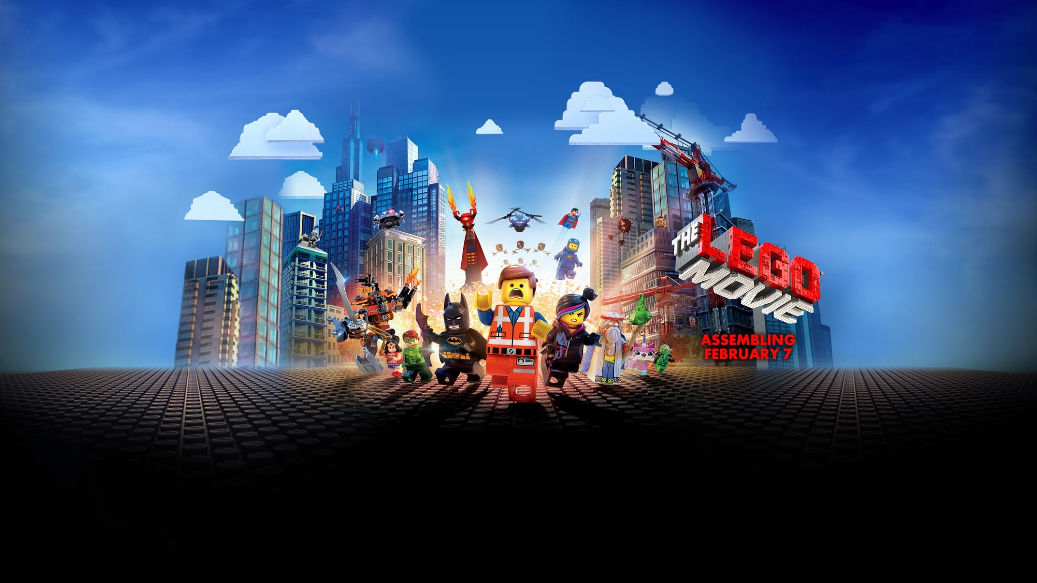 The Lego Movie 2014 Hd Wallpaper Wallpaper List 2048x1152