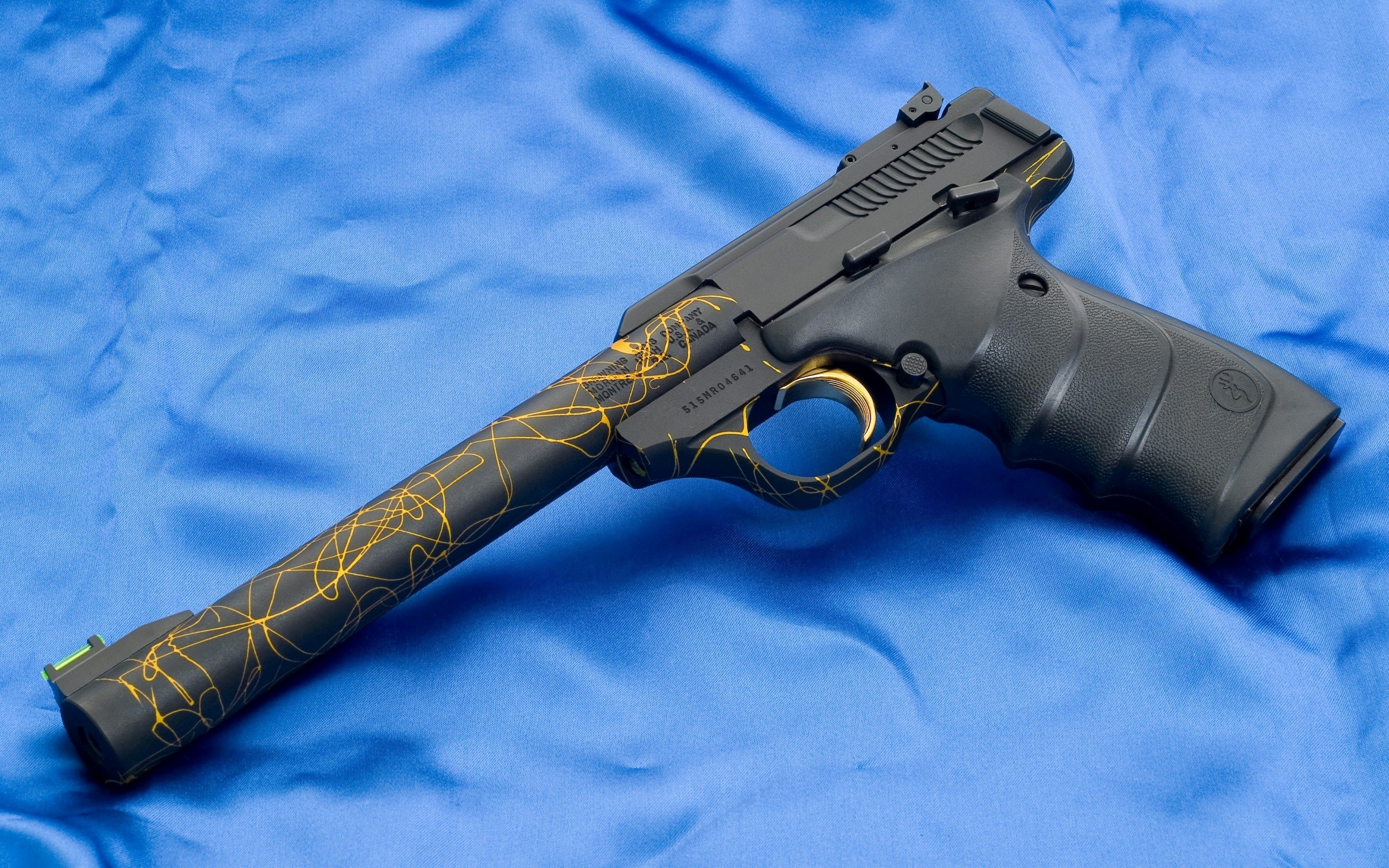 Weapon Browning Buckmark Gun HD Images HD Wallpapers 2560x1600
