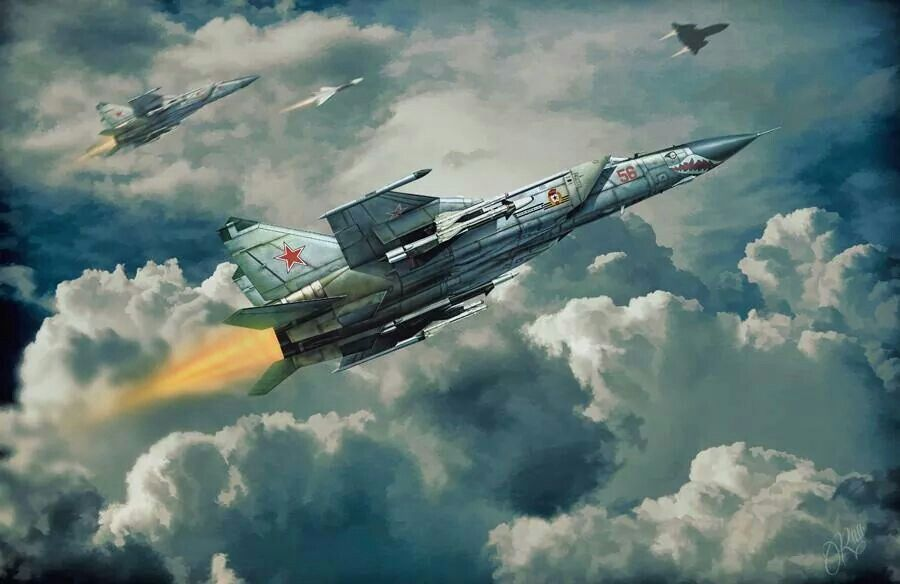 Mig 25 Russian Air Force Airplane fighter Airplane art Fighter 900x584