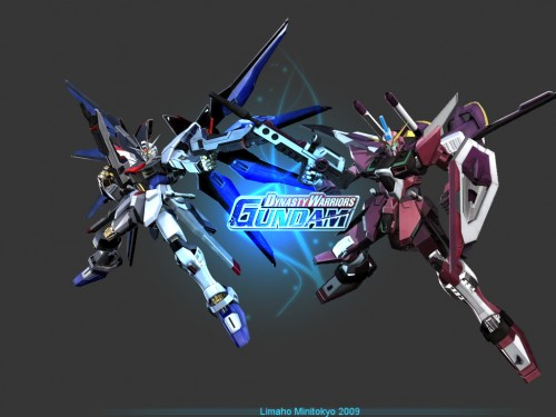 Gundam Seed Freedom Justice Wallpaper Dynasty warriors gundam game 500x375