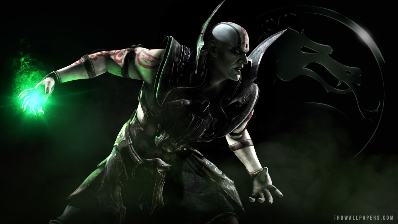 Quan Chi in Mortal Kombat X 2015 HD Wallpaper   iHD Wallpapers 1280x720