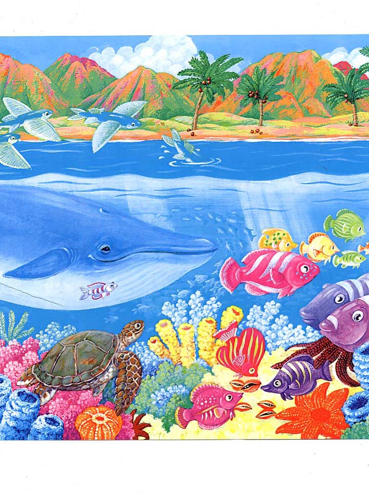 WOW KIDS   OceanFish Border 4001 Width 12 Out of Stock PRICE 17 720x960