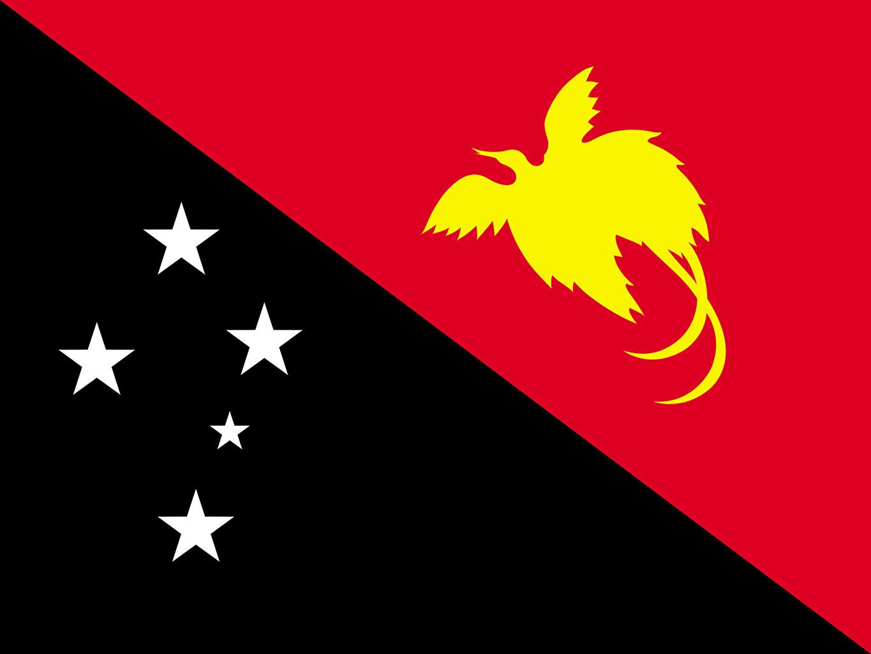 Photo Papua New Guinea Flag 1365x1024