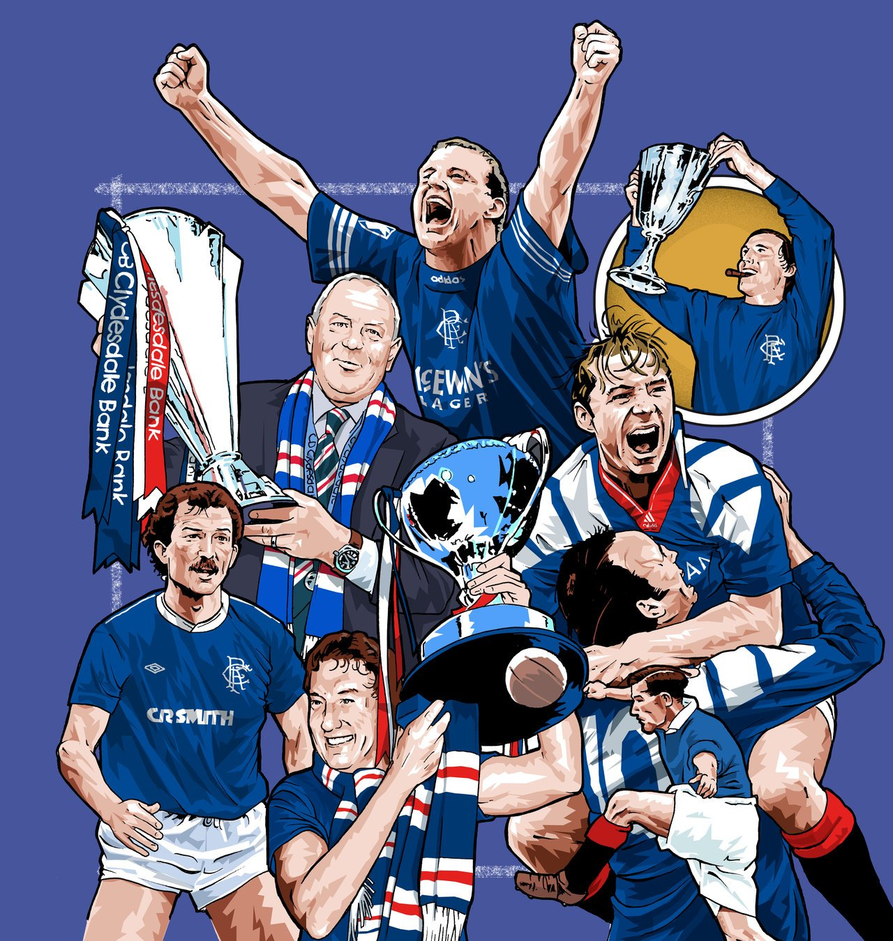 Glasgow Rangers Book Cover By Chegg69 On Deviantart 1280x1350