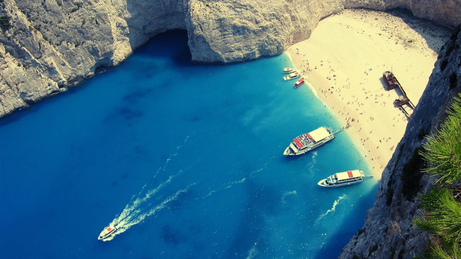 Image Result For Wallpaper Beach Greece Hd Wallpaper