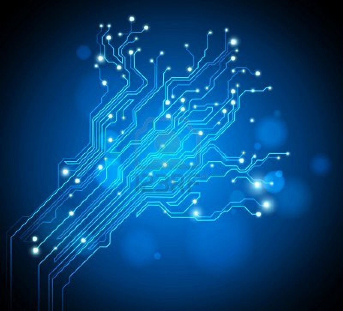 circuit board tree creative graphic Fine Wallpaperss 1200x1089