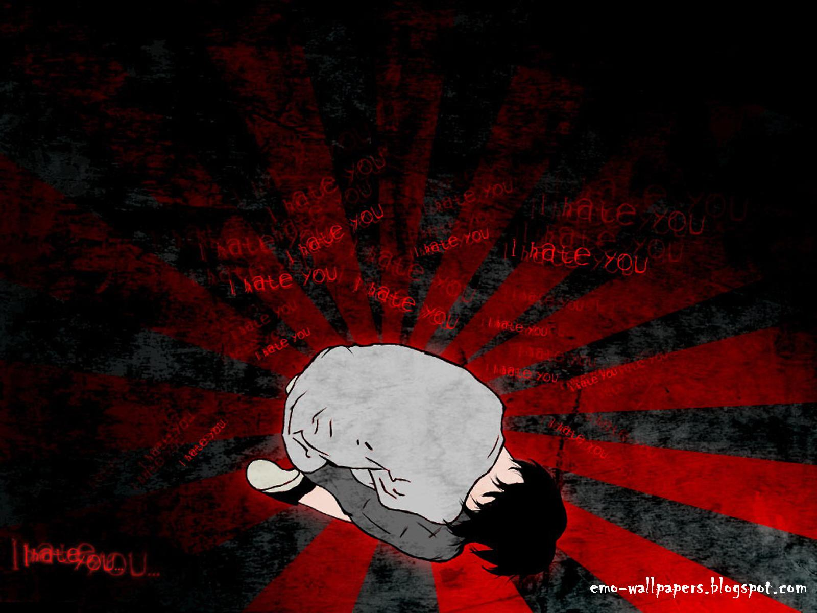 Sad EMO Boy Wallpaper 1600x1200