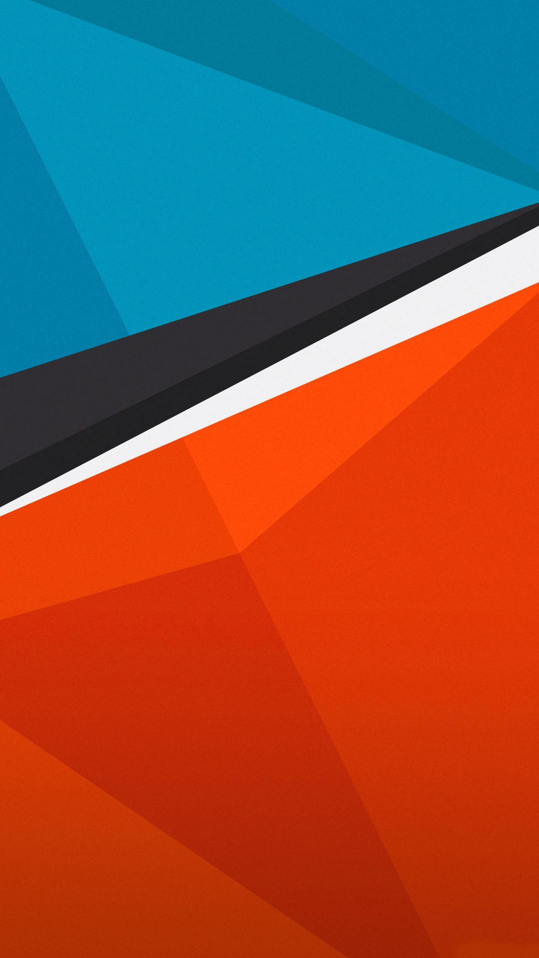 HTC One Wallpapers Blue orange android wallpaper Android Wallpapers 1080x1920