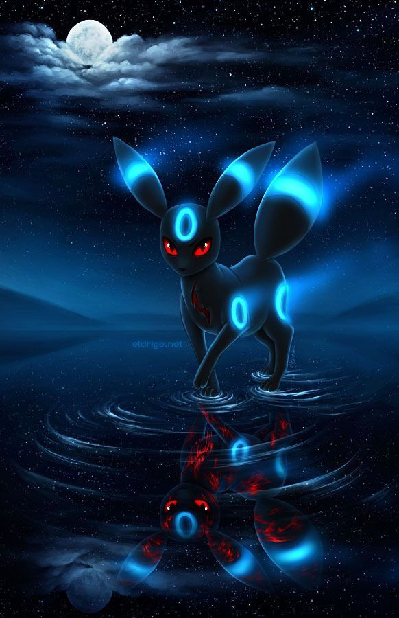 Umbreon Eevee and Friends Pinterest 582x900