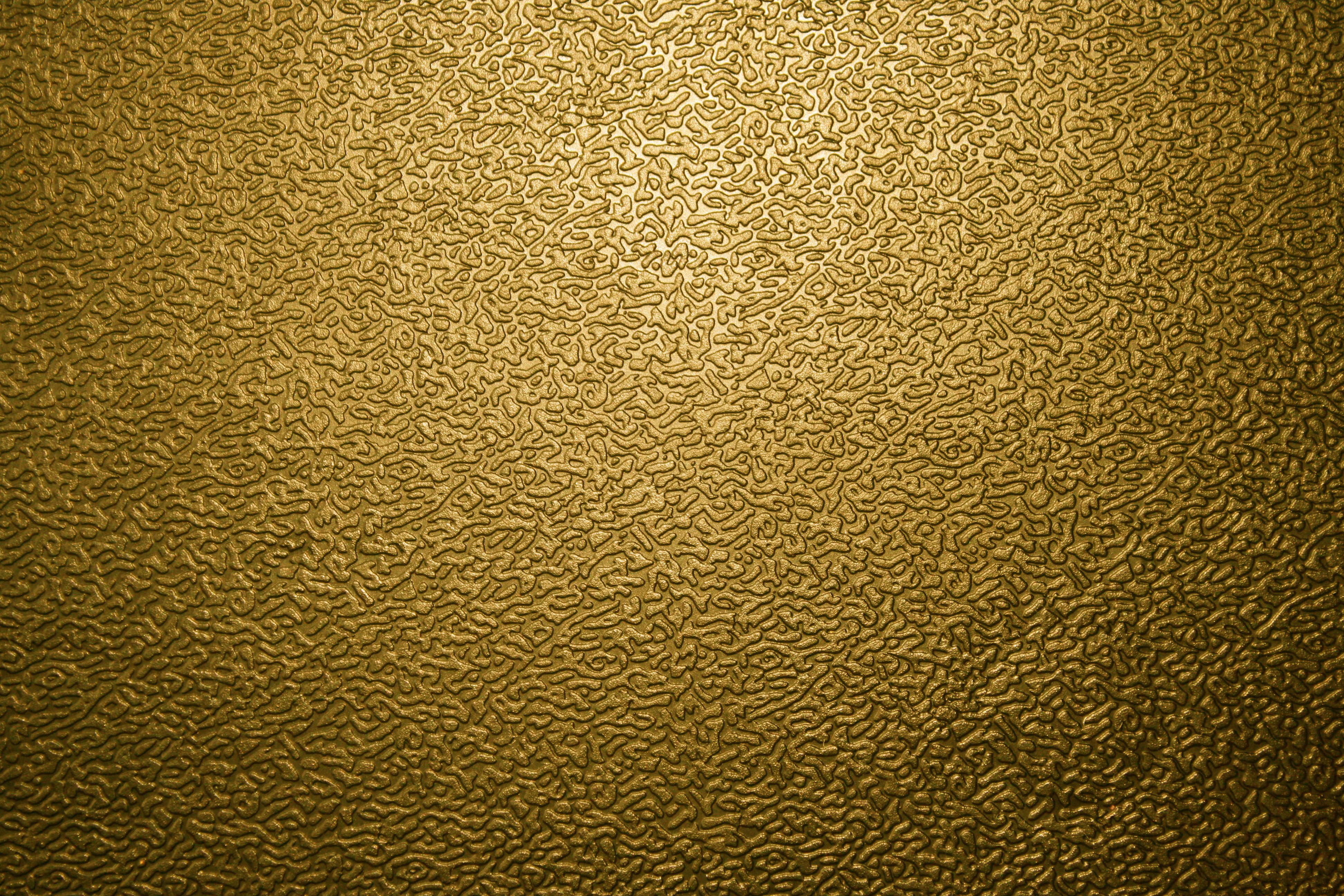 Textured Gold Plastic Close Up Picture Photograph Photos 3888x2592