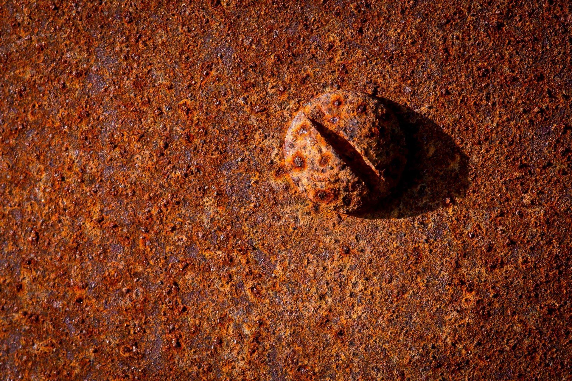 bolt rust metal close up HD wallpaper 1920x1280