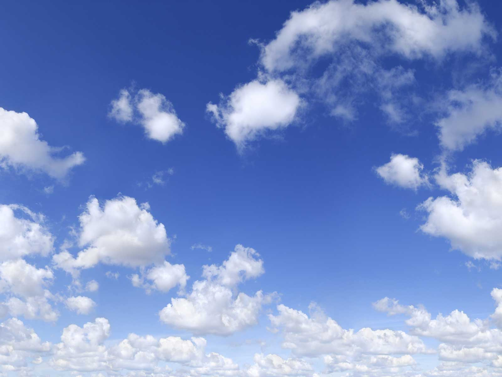Blue Sky With Clouds Wallpaper 56 Images: Cloudy Background