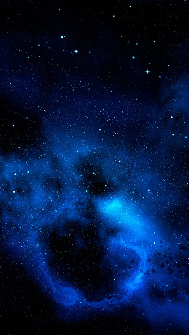 galaxy wallpapers and galaxy blue galaxy backgrounds blue galaxy 640x1136
