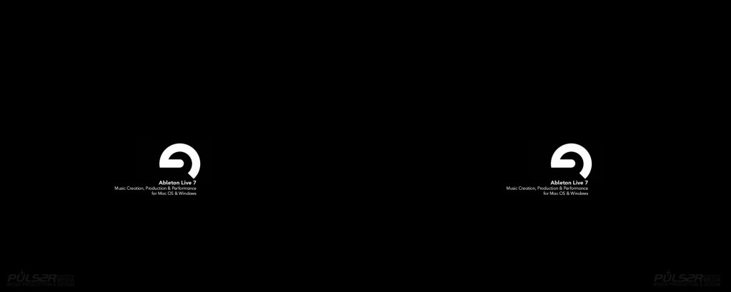 Ableton Live 8 Dual Desktop Producer Wallpaper Background Theme 1023x409