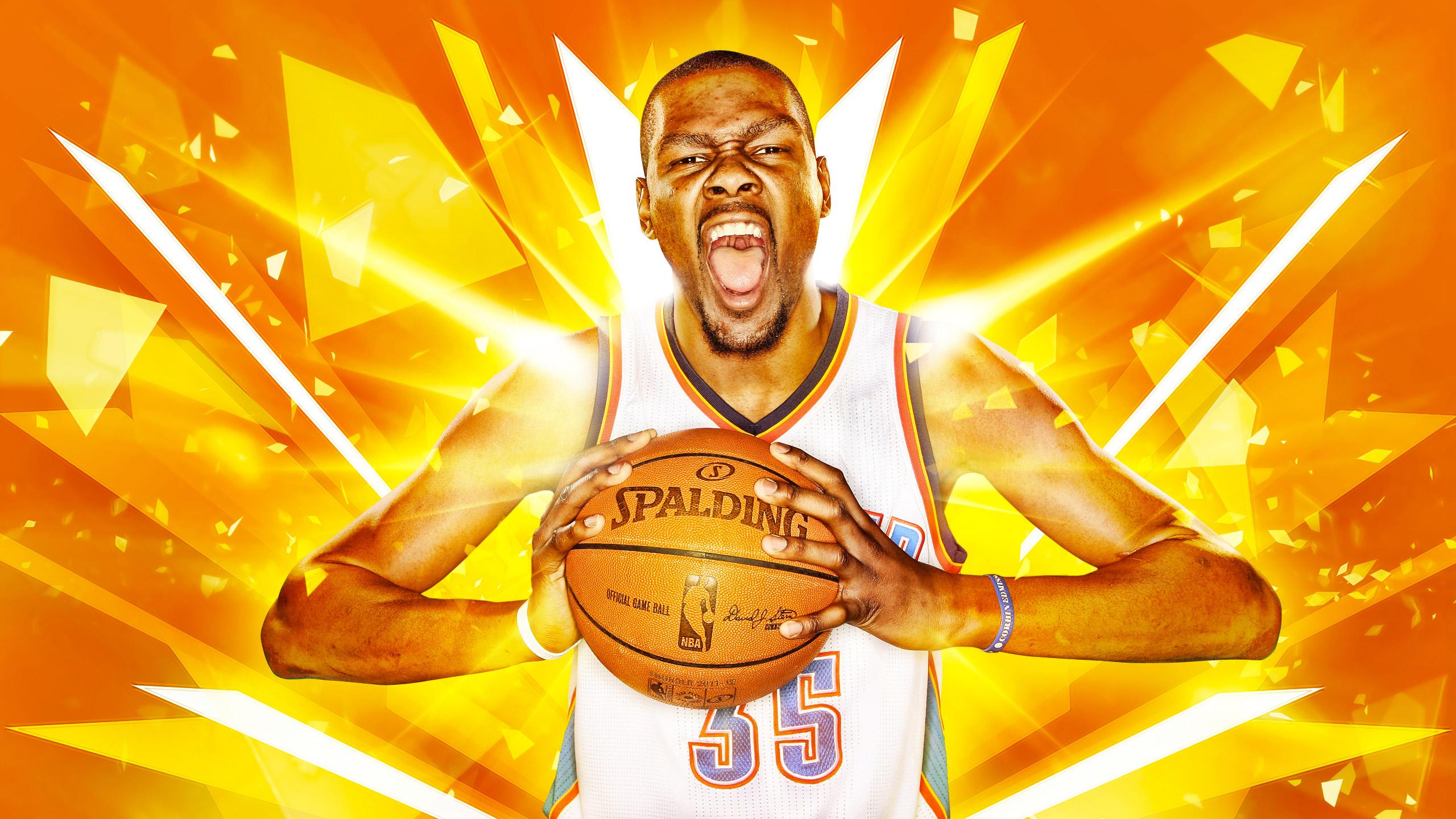 Kevin Durant OKC Thunder 2016 Wallpaper Basketball 2560x1440