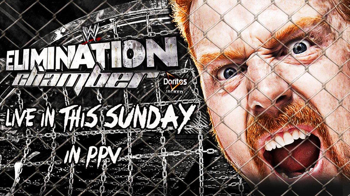 WWE Elimination Chamber 2014 Custom Cover [HD] by 1192x670