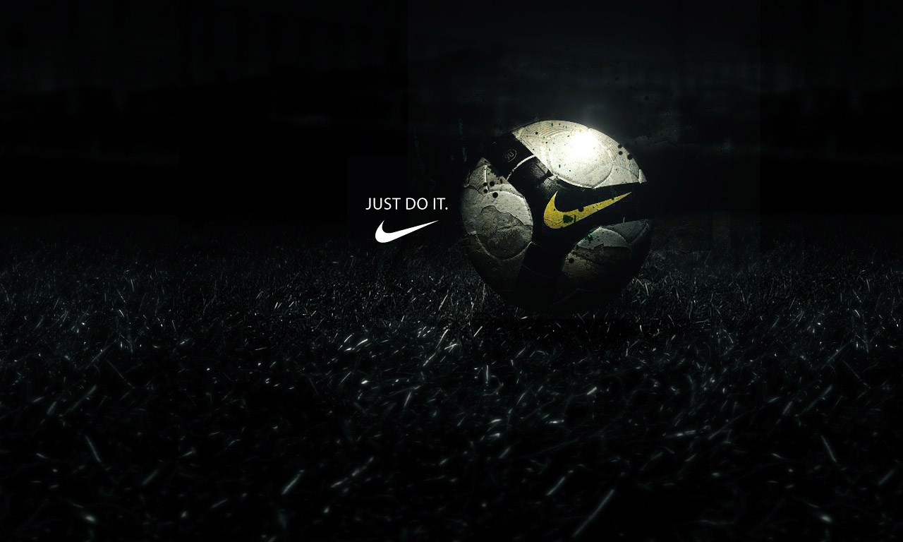 Nike football ball wallpaper