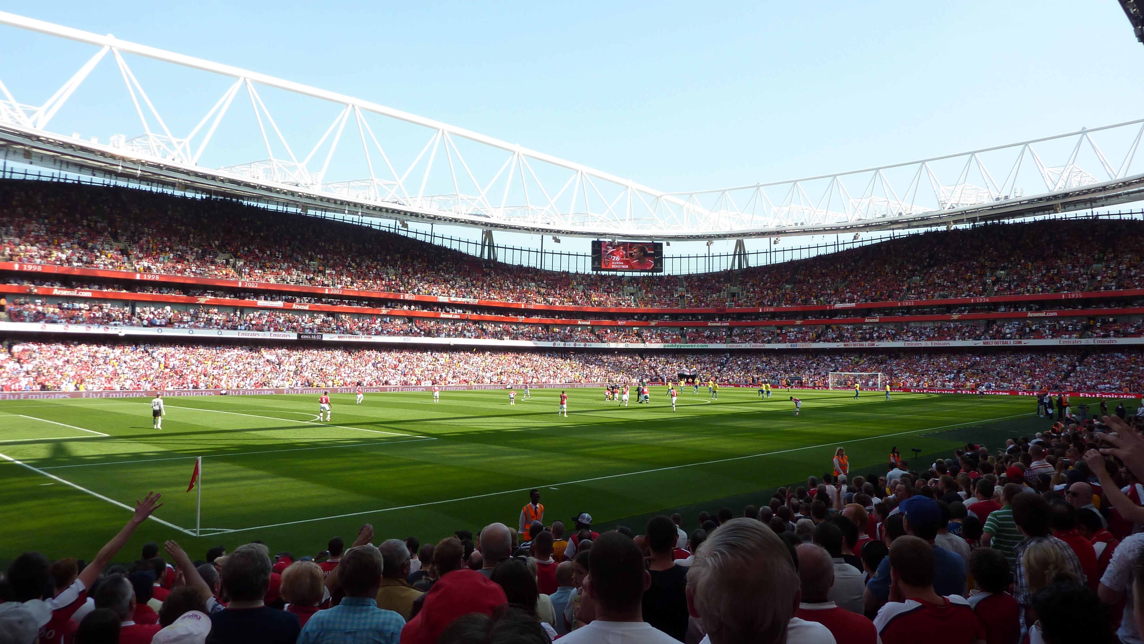 Fonds dcran Emirates Stadium tous les wallpapers Emirates Stadium 3968x2232