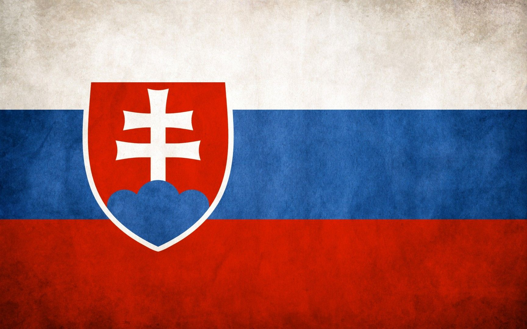 Flag of Slovakia wallpaper Flags wallpaper 1728x1080