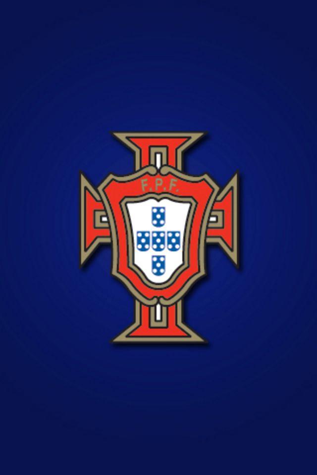 Portugal Football Logo iPhone Wallpaper HD 640x960