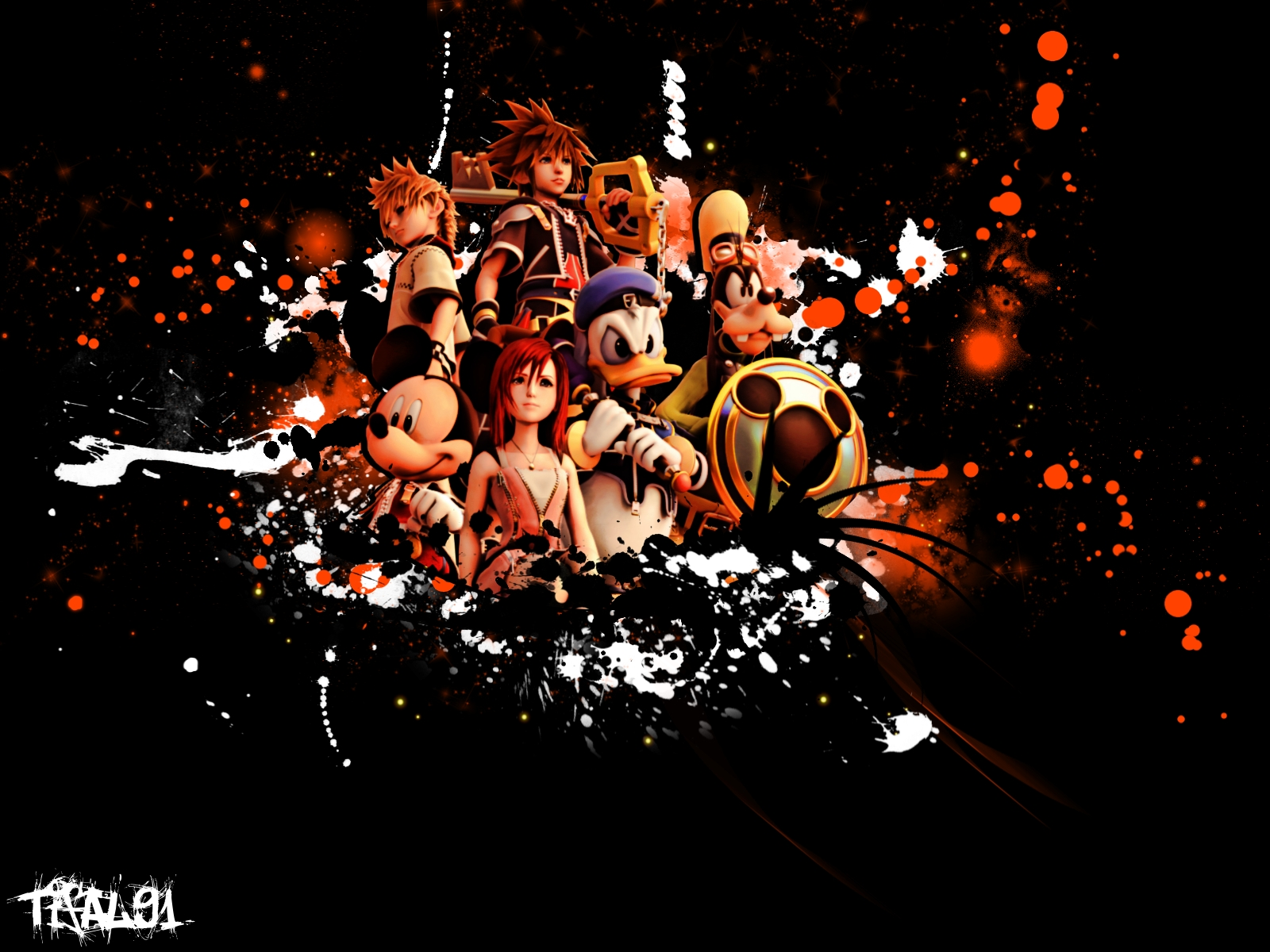 Kingdom Hearts PC Game Desktop Background 04 Imagez Only 1600x1200