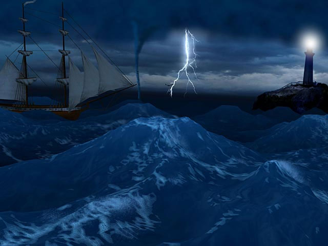 lightning storm screensaver 640x480