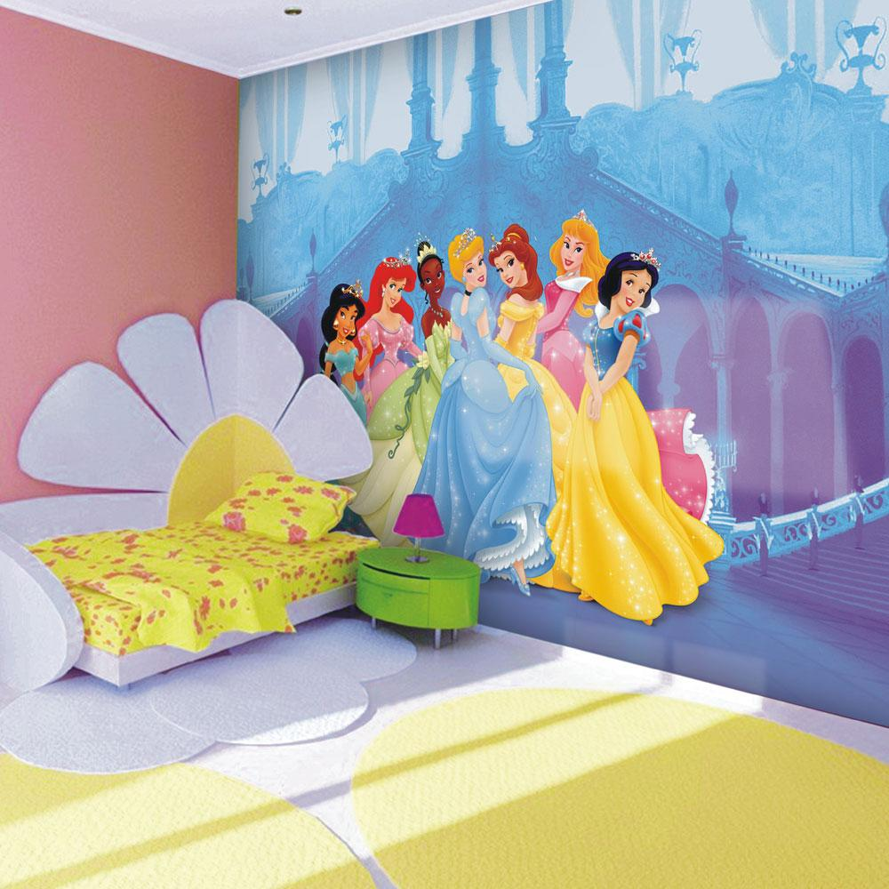 about Disney Princess Giant Wall Mural Room Decor Wallpaper FREE PP 1000x1000