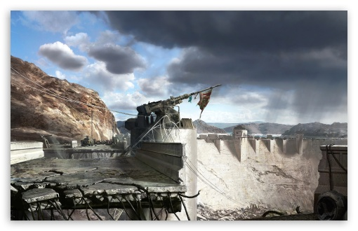 Fallout New Vegas Hoover Dam Concept Art HD wallpaper for Standard 43 510x330
