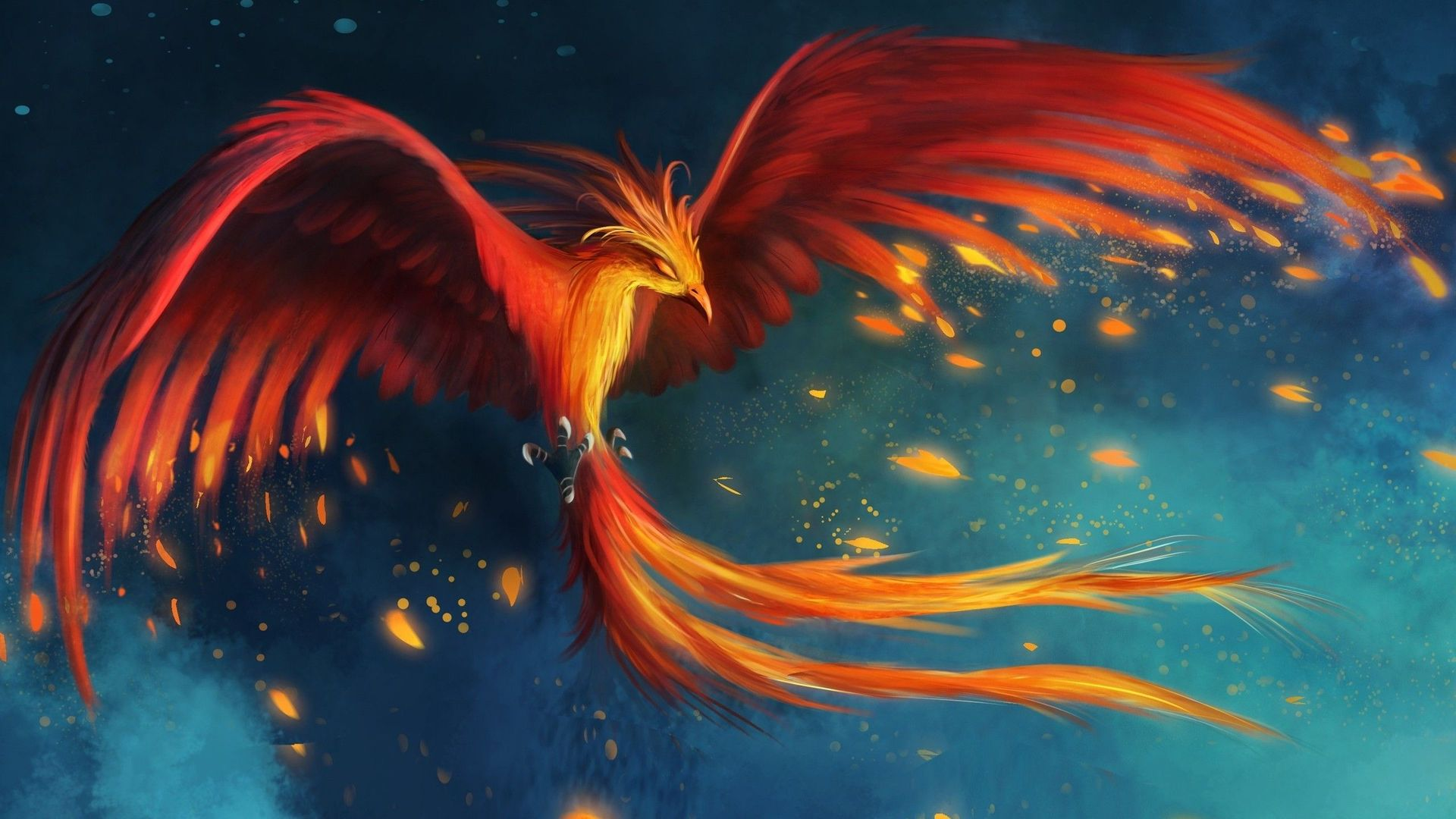 Fantasy Phoenix Wallpaper 5 Background Wallpaper 1920x1080