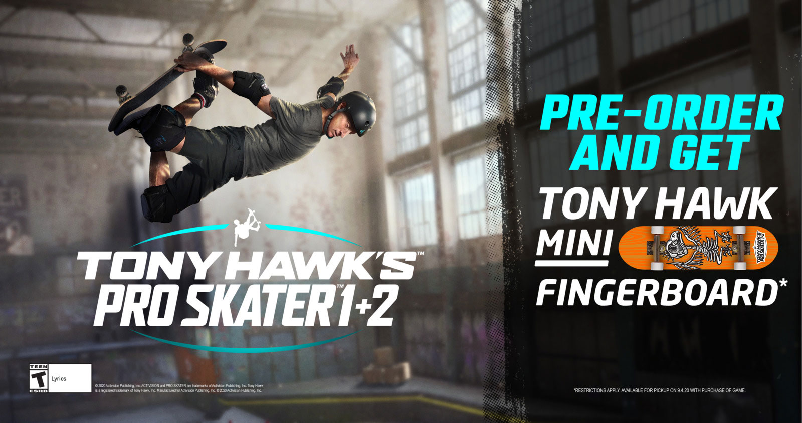 Get Ready to Grind into Tony Hawks Pro Skater 1 and 2 1600x844