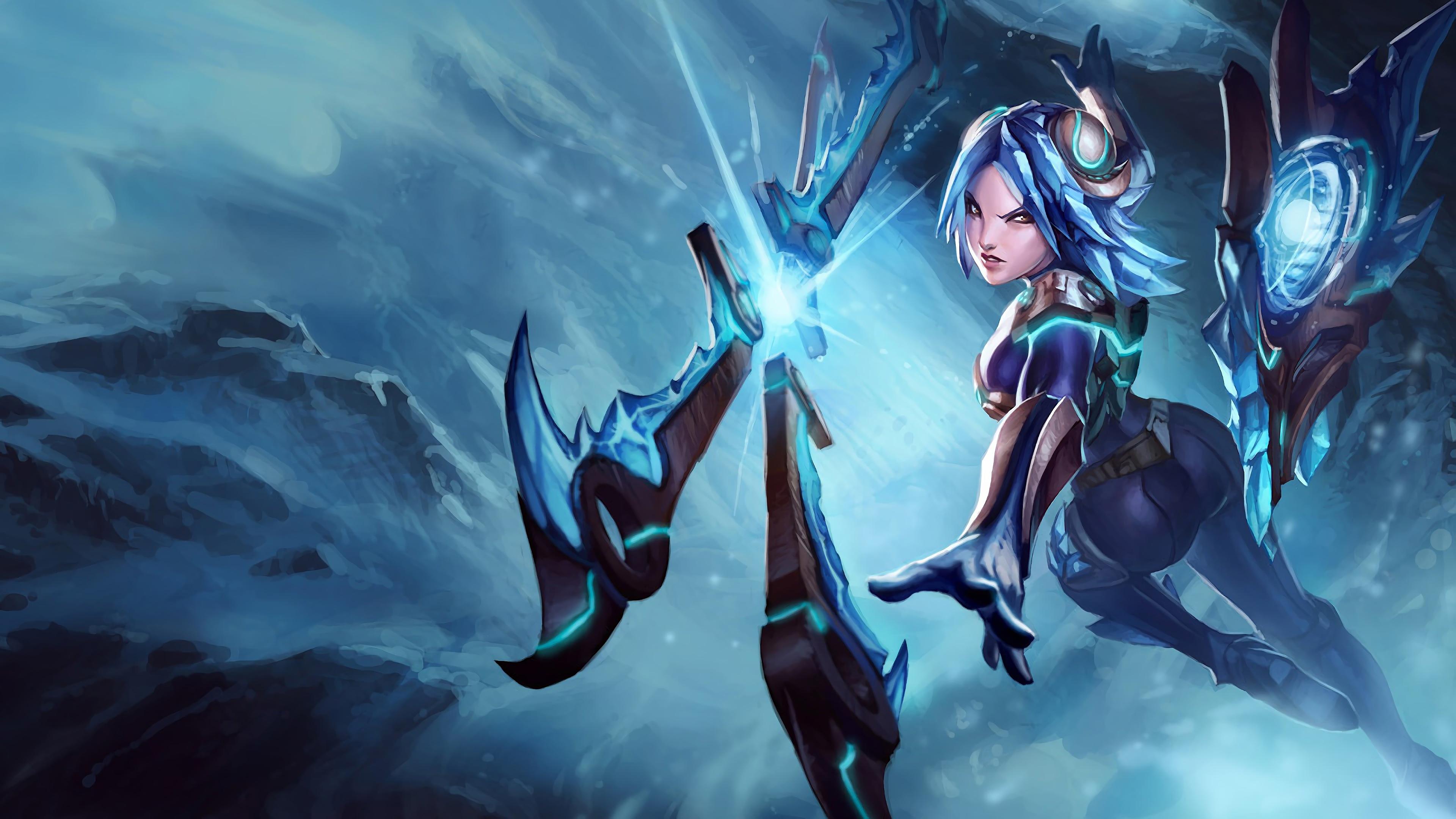 Emerald Taric LoL Splash Art League of Legends 4K 1245 3840x2160
