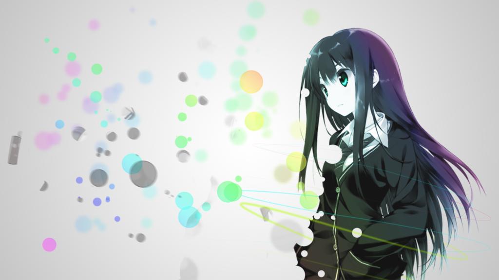 Anime girl wallpaper by SleNDyShAd0WArtIST 1024x576