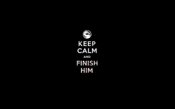 games dark humor funny combat mortal mortal kombat keep calm and black 600x375
