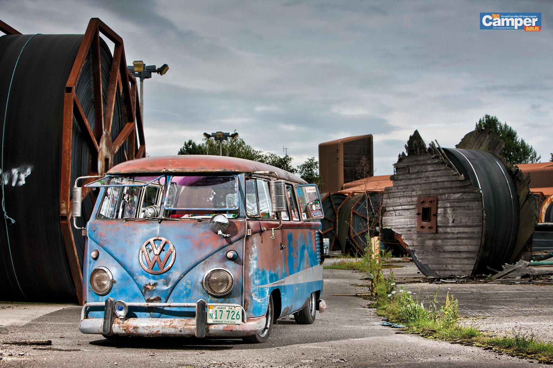 Vw Bus Wallpaper - WallpaperSafari
