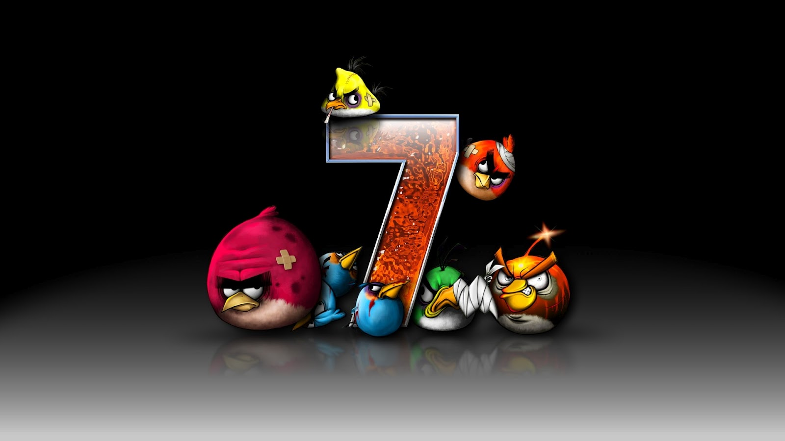 35 Different Angry Birds Pictures 1600x900