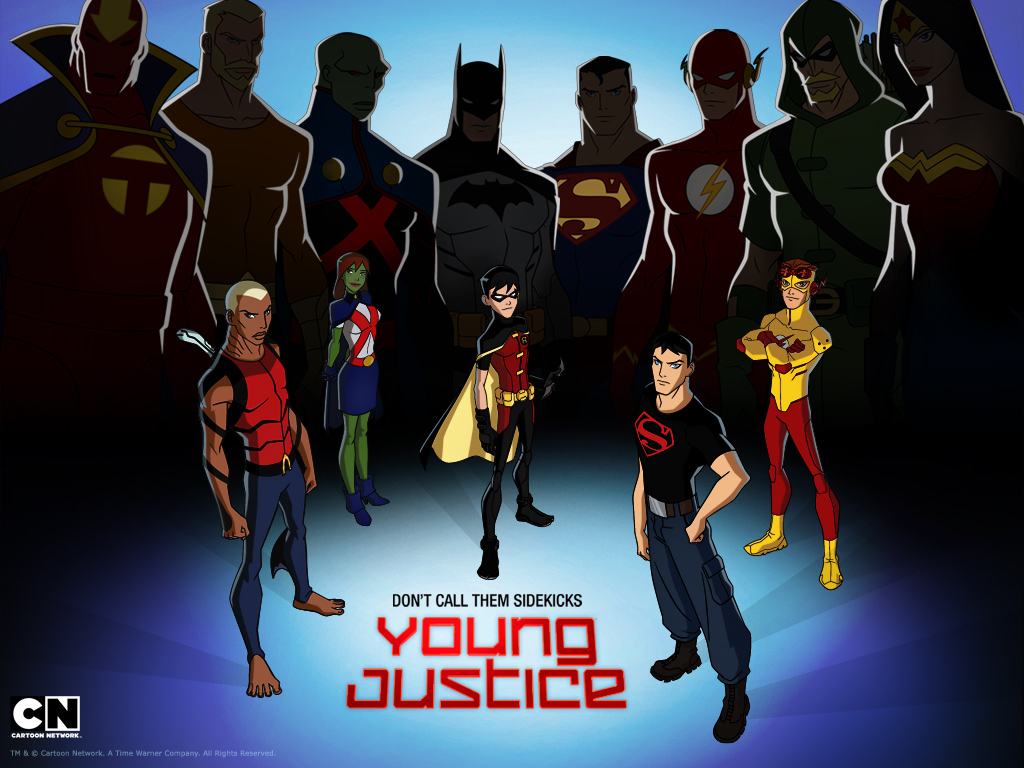 young justice wallpaperjpeg 1024x768
