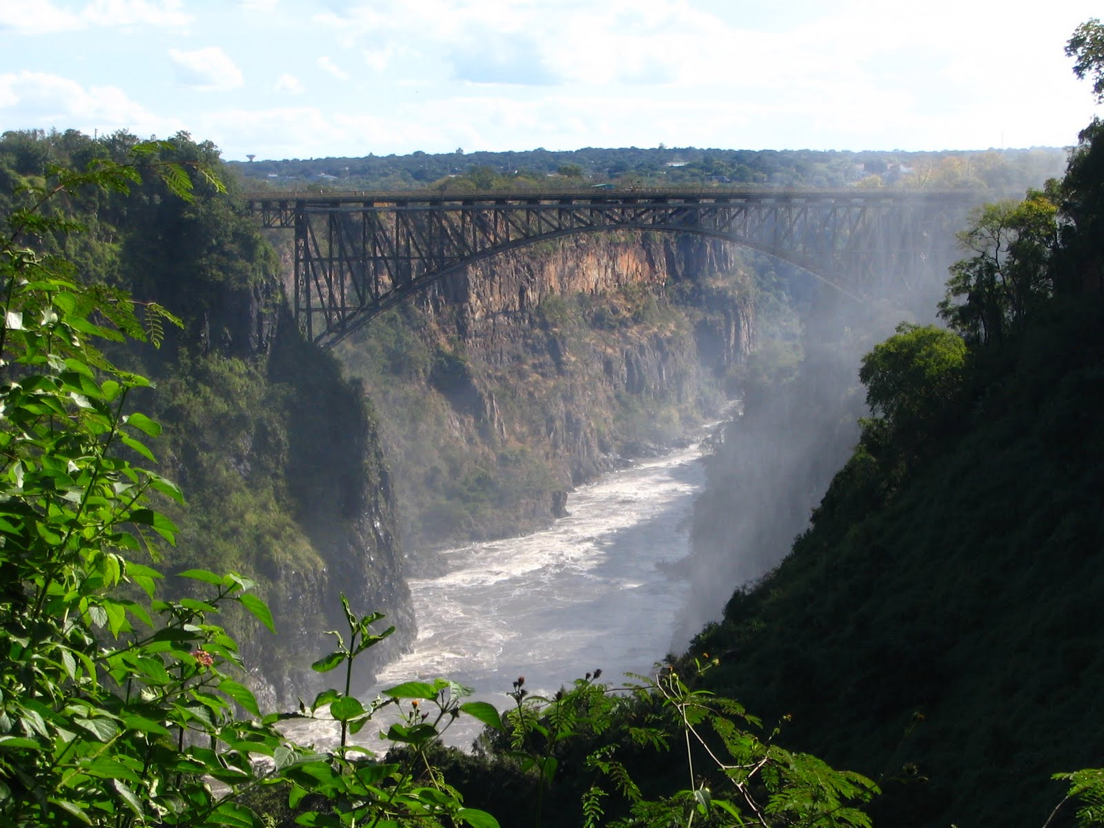Amazing Victoria Falls Scenery Photos HD Wallpapers Location Details 1600x1200