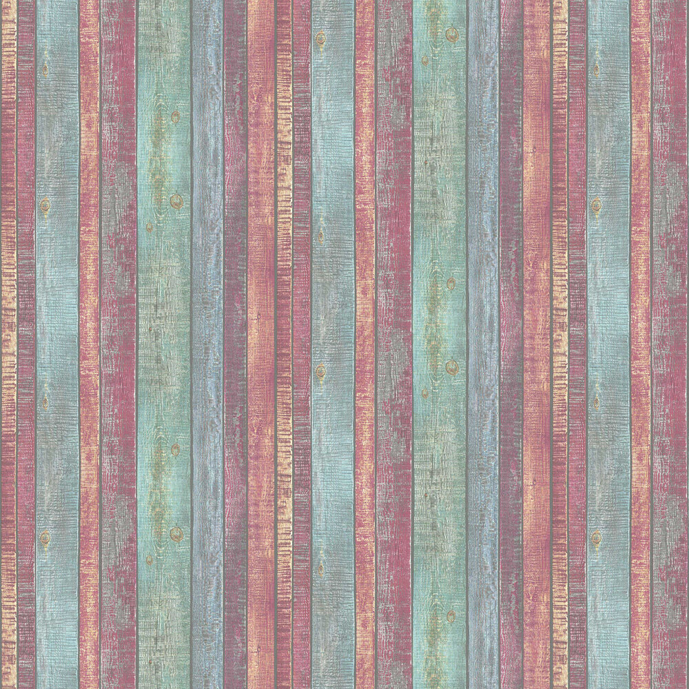 Painted Wood by Albany   Multi coloured   Wallpaper Wallpaper Direct 1000x1000