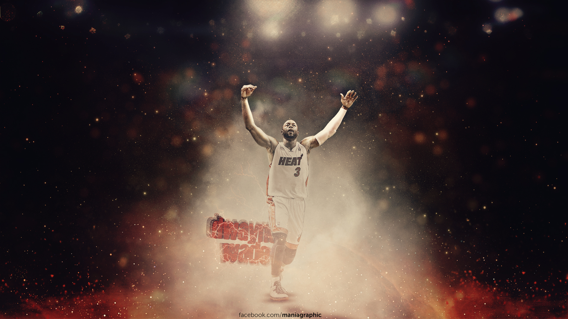 Dwyane Wade Wallpaper by ManiaGraphic 1920x1080