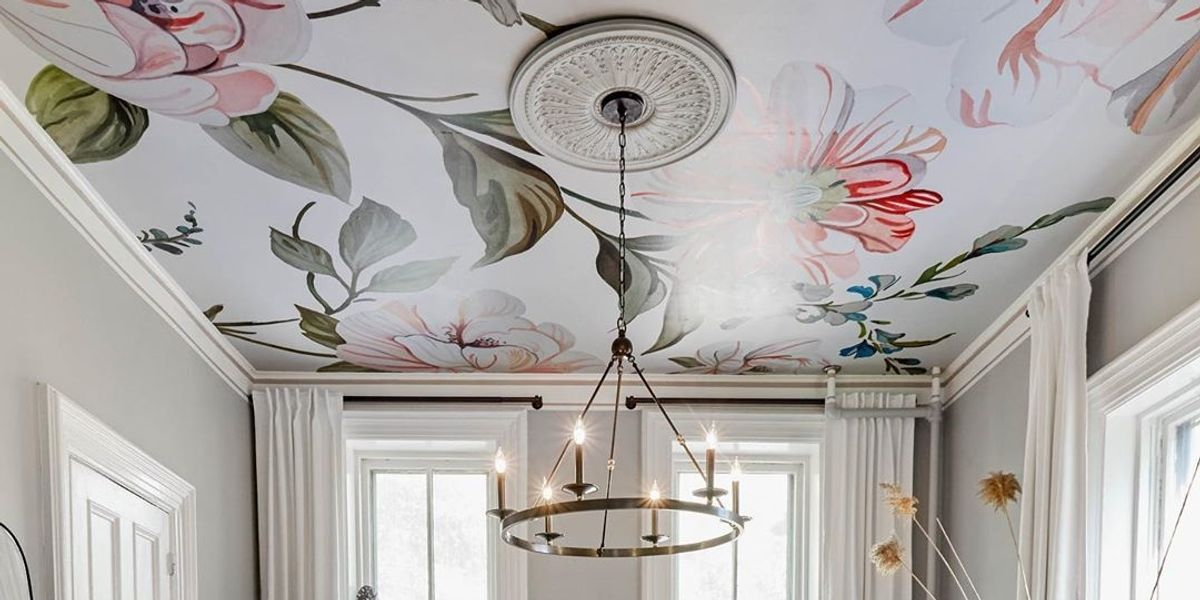 Best Ceiling Wallpaper Ideasand How to Add Them to Your Home 1200x600