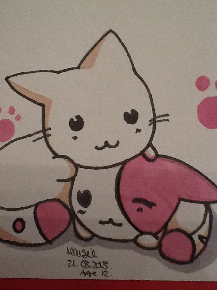 Cute Anime Animals Pictures
