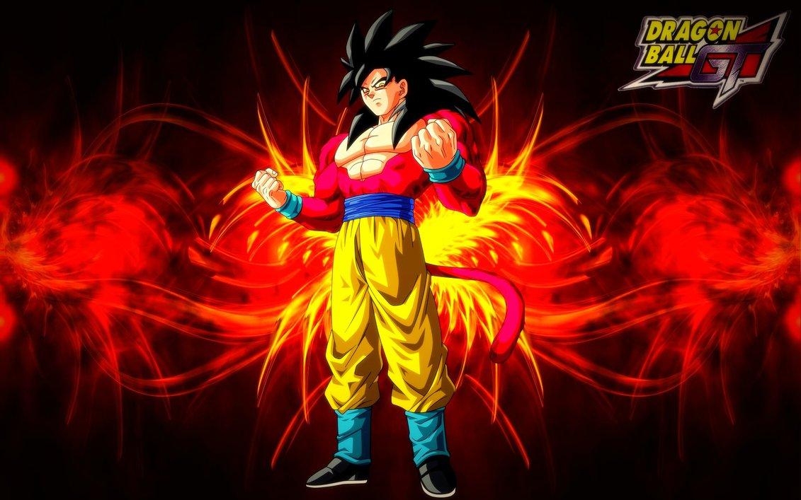 Dragonball GT   Goku Super Saiyan 4 Wallpaper by BlackShadowX306 on 1131x707