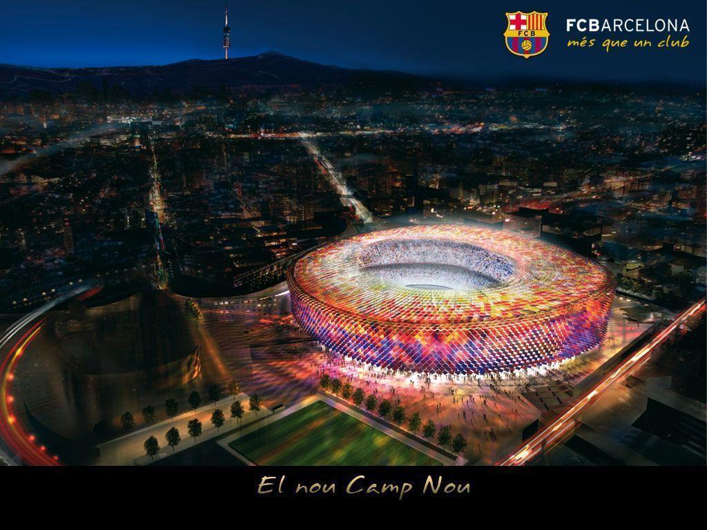 Camp Nou Wallpapers 1024x768