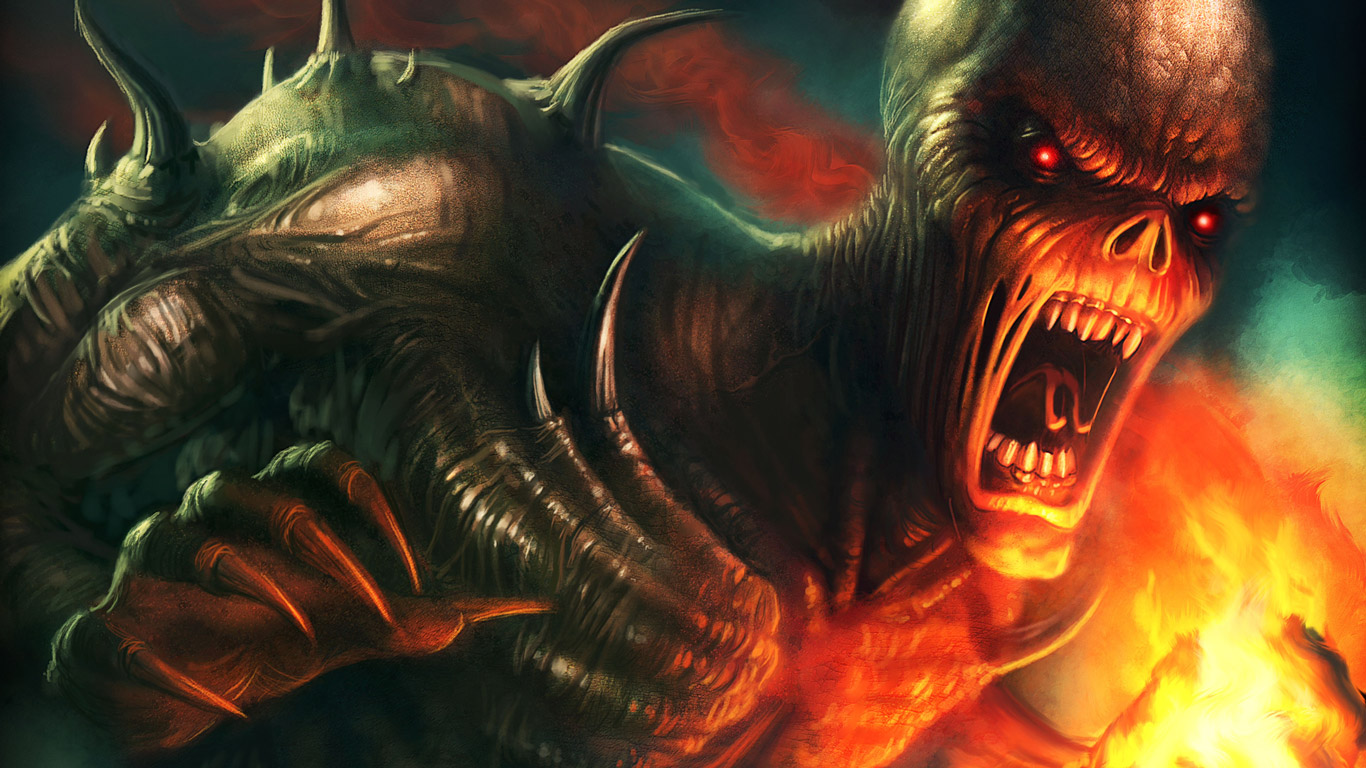 doom wallpaper 1366x768 - photo #10