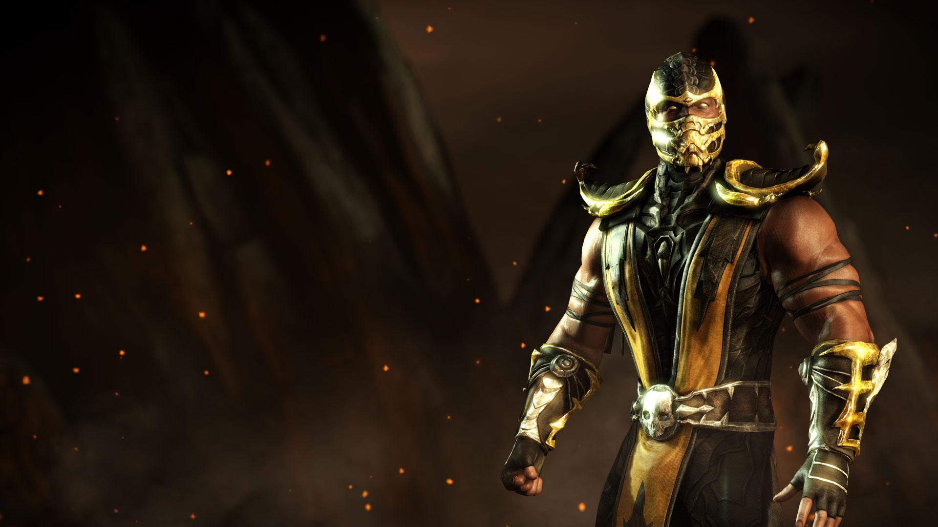 MKWarehouse Mortal Kombat X Scorpion 1920x1080