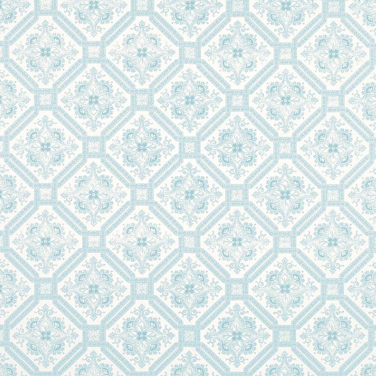 Duck egg blue wallpaper wallpapersafari for Blue patterned wallpaper bedroom