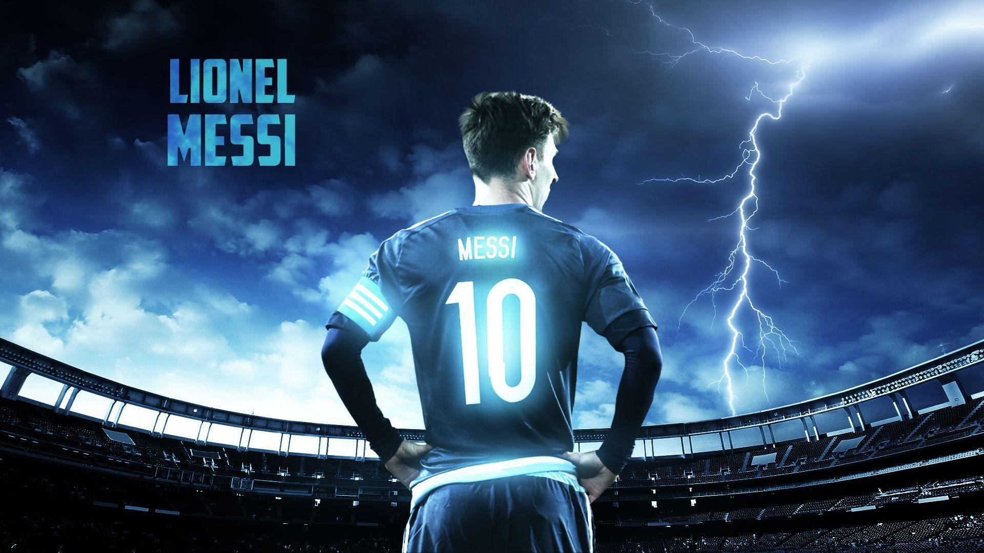 Wallpapers Lionel Messi 2016 1920x1080