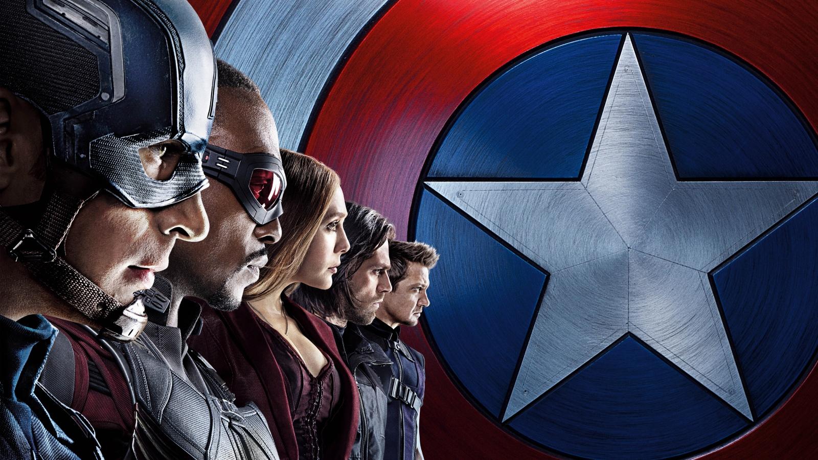 Captain America Civil War Team Wallpapers HD Wallpapers 1600x900