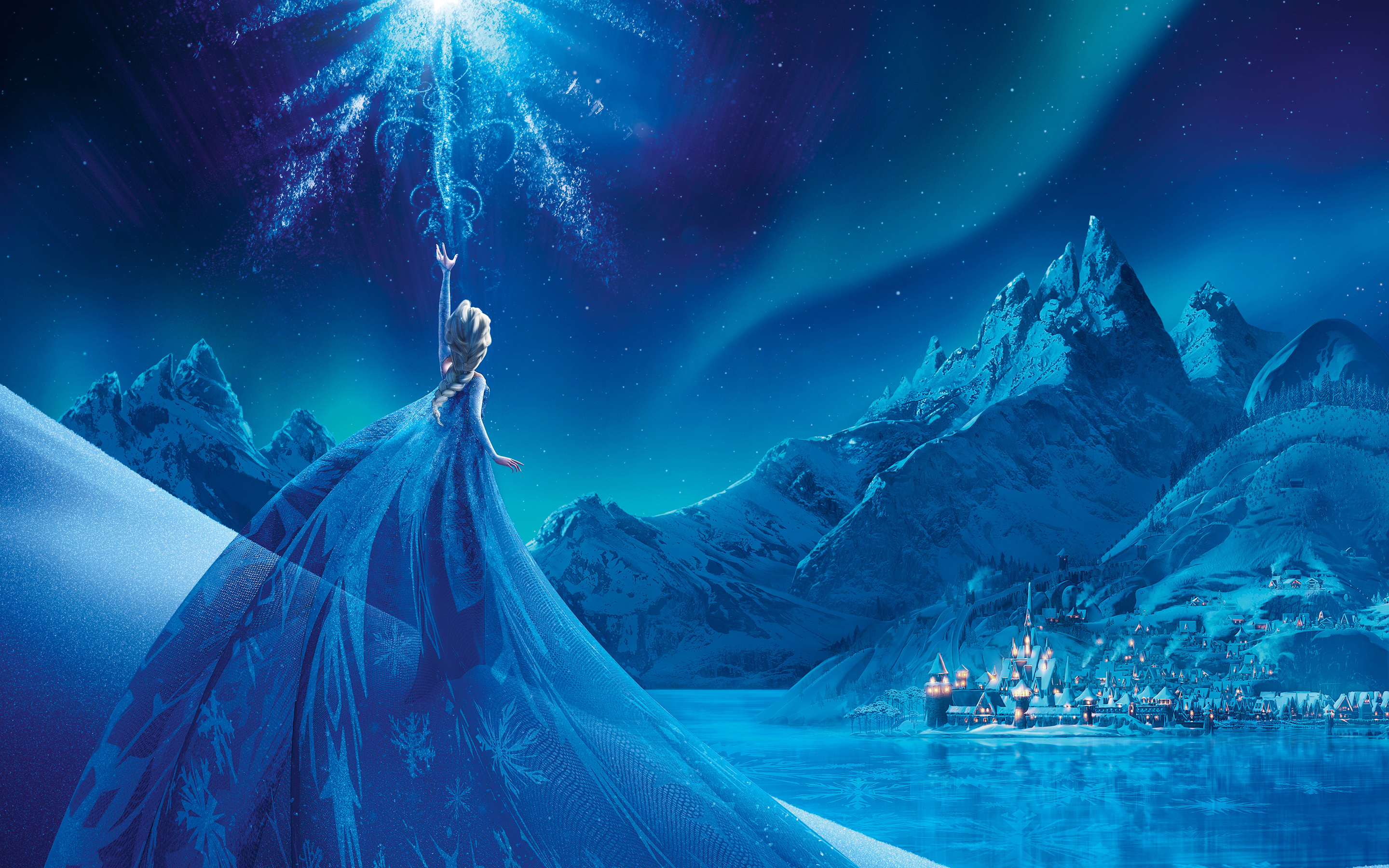 Frozen Elsa Snow Queen Palace Wallpapers HD Wallpapers 2880x1800